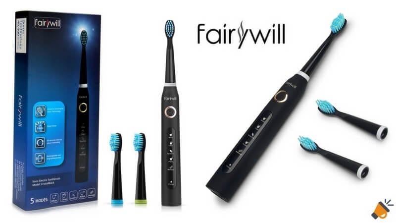 oferta cepillo de dientes Fairywill FW 507 barato descuento amazon SuperChollos