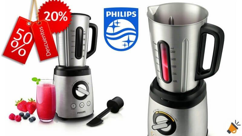 oferta batidora de vaso Philips HR209700 barata descuento amazon SuperChollos