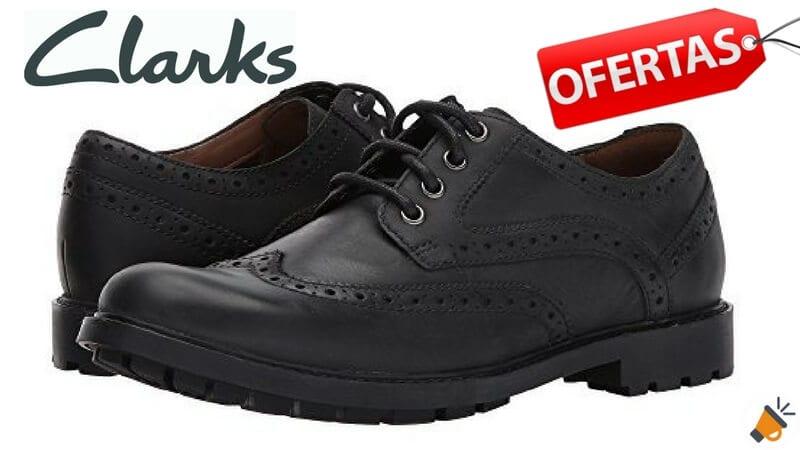 oferta zapatos Clarks Curington Wing baratos descuento amazon SuperChollos