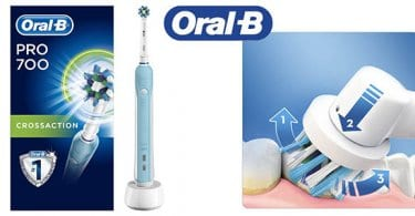 oral b pro 700 crossaction cepillo dientes electrico barato SuperChollos
