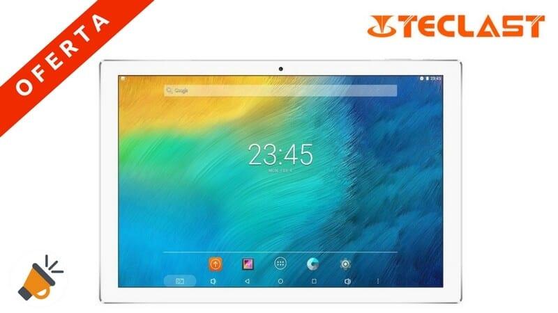 oferta tablet teclast pc10 octa core android 10.1 pulgadas barata SuperChollos