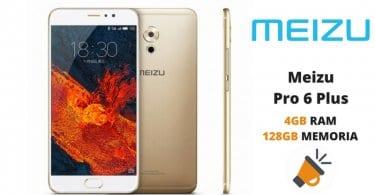 oferta Meizu Pro 6 Plus barato descuento banggood SuperChollos