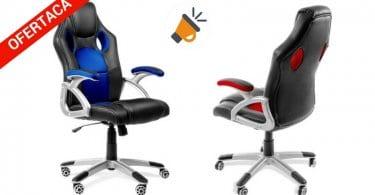 oferta silla escritorio gaming barata SuperChollos