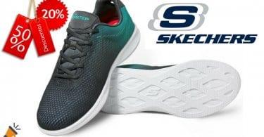 oferta zapatillas Skechers Go Step Lite Interstelllar baratas chollo amazon SuperChollos