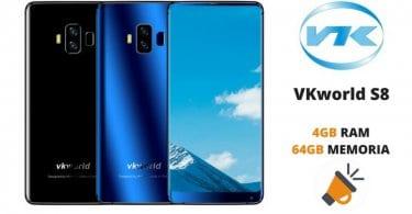 oferta VKworld S8 barato chollo gearbest SuperChollos