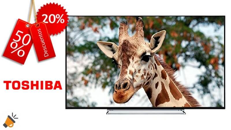 oferta smart tv Toshiba 65U6763DG barata chollo amazon SuperChollos