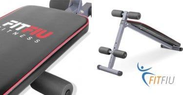 banco musculacion abdominales plegable fitfiu fitness oferta SuperChollos