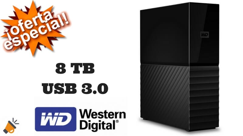 oferta Western Digital My Book Disco duro externo barato chollo amazon SuperChollos