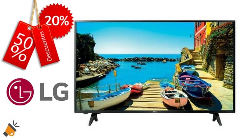 oferta television 43LJ500V barata SuperChollos