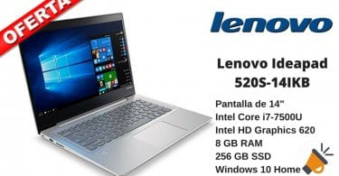 oferta Lenovo Ideapad 520S 14IKB barato chollo amazon SuperChollos