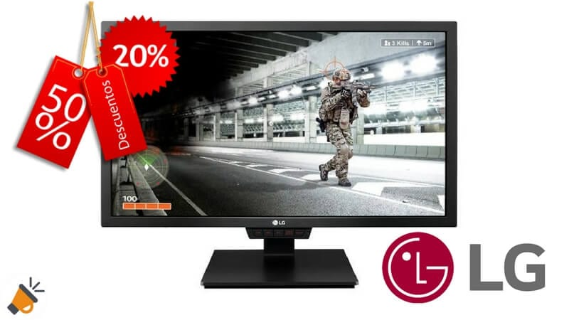 oferta monitor LG 24GM79G B barato chollo amazon1 SuperChollos