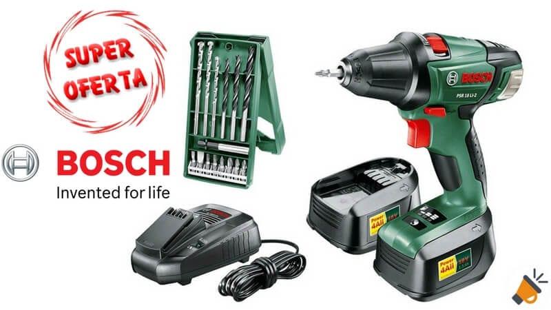 oferta Bosch 0603973504 atornillador inala%CC%81mbrico barato chollo amazon SuperChollos