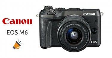 oferta camara fotos digital compacta canon eos m6 evil barata SuperChollos
