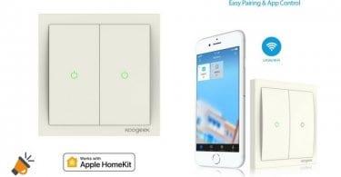 oferta Interruptor inteligente WiFi compatible HomeKit barato chollo amazon SuperChollos