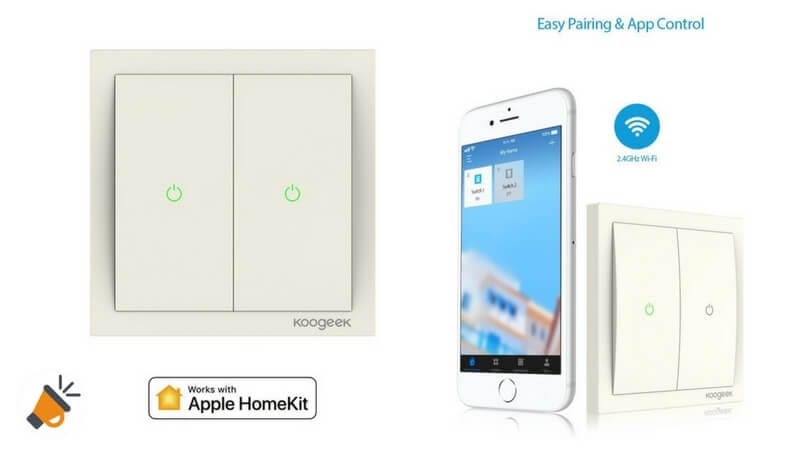 oferta Interruptor inteligente WiFi compatible HomeKit barato chollo amazon SuperChollos