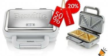 oferta Breville VST070X Sandwichera barata chollo amazon1 SuperChollos