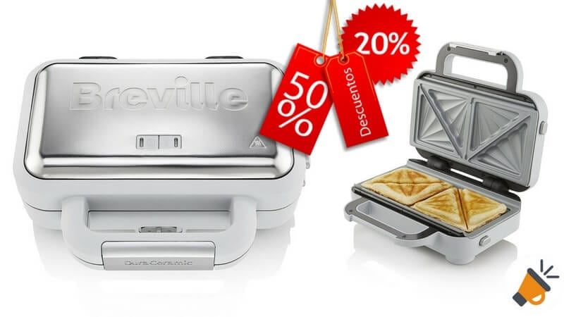 oferta Breville VST070X Sandwichera barata chollo amazon1 SuperChollos