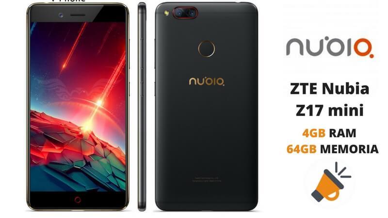 oferta ZTE Nubia Z17 mini barato SuperChollos