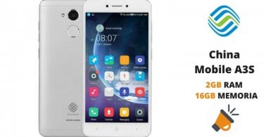 oferta China Mobile A3S barato SuperChollos