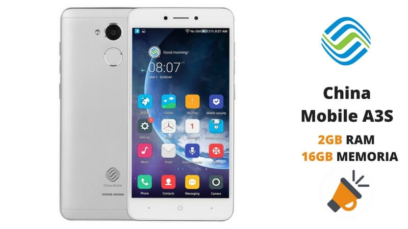 oferta China Mobile A3S barato SuperChollos