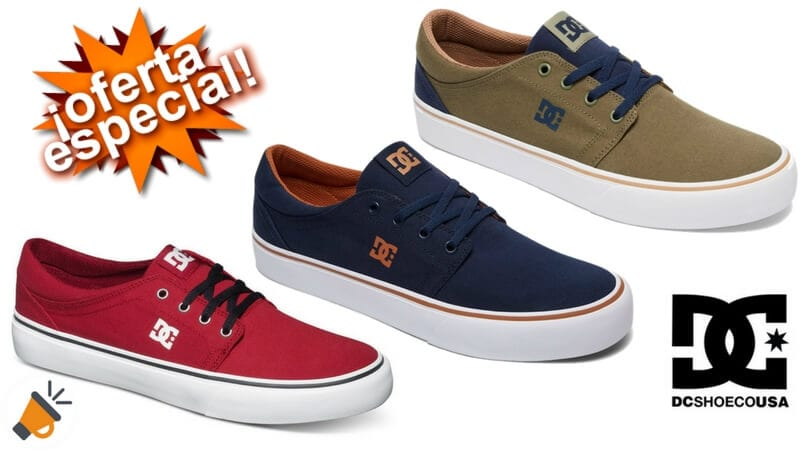 zapatillas DC Shoes%E2%84%A2 Trase TX baratas chollo ebay SuperChollos