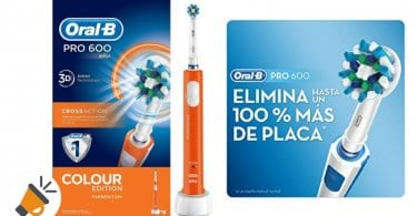 oferta cepillo dientes electrico oral b pro 600 barato SuperChollos