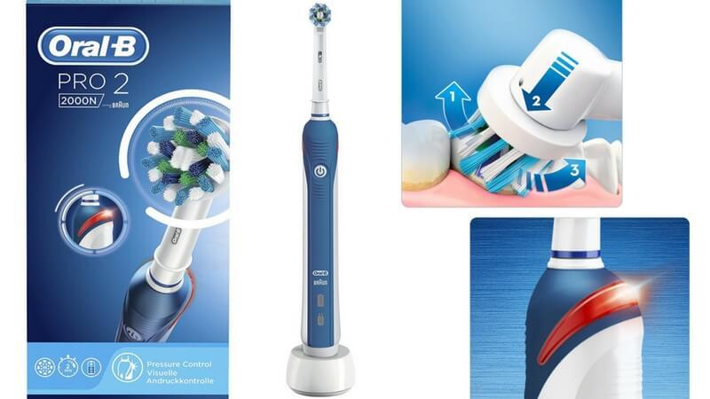 oferta comprar cepillo electrico oral b pro 2 2000n corssaction barato SuperChollos