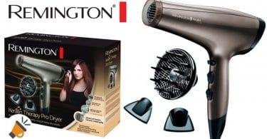oferta comprar secador pelo remington ac8000 keratin therapy pro dryer barato SuperChollos