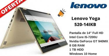 oferta Lenovo YOGA 520 14IKB barato chollo amazon SuperChollos