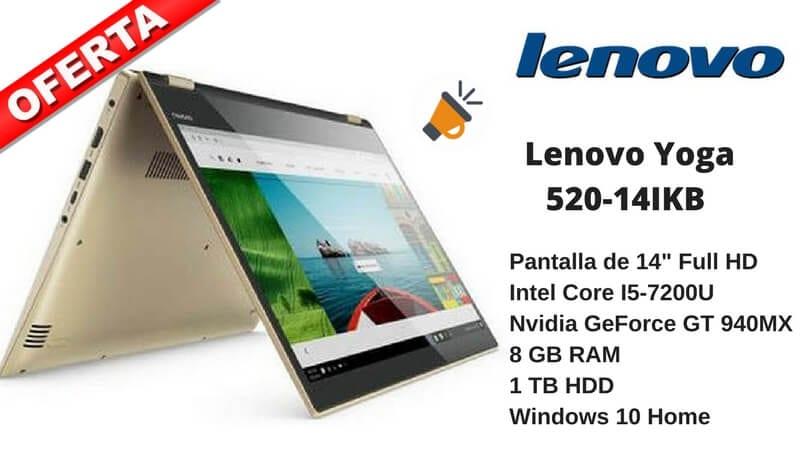 oferta Lenovo YOGA 520 14IKB barato chollo amazon SuperChollos