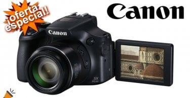 oferta Canon PowerShot SX60 HS barata chollo amazon SuperChollos