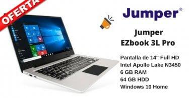 oferta portatil Jumper EZbook 3L Pro barato SuperChollos