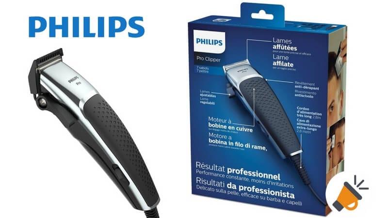 oferta cortapelos philips serie 5000 barato SuperChollos