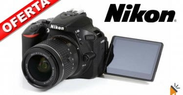 oferta Nikon D5600 AF P DX Nikkor barata chollo amazon SuperChollos