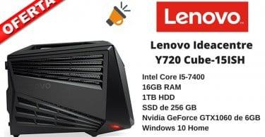 oferta ordenador mesa gaming lenovo ideacentre y720 ish barato SuperChollos