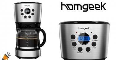 oferta Homgeek Cafetera 12 Tazas barato chollo amazon SuperChollos