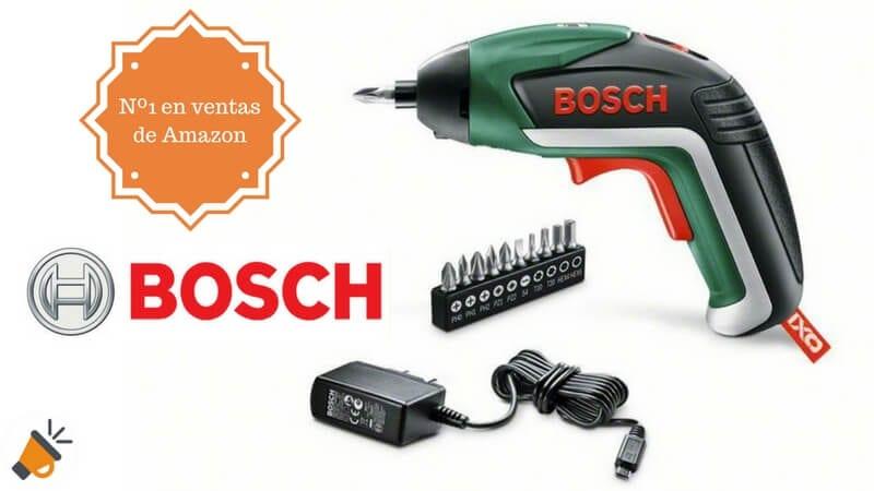 oferta Destornillador a bateri%CC%81a Bosch IXO Basic barato chollo amazon SuperChollos