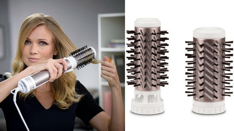 cepillo moldeador alisador cabello rowenta brush active premium care keratin barato SuperChollos