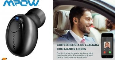 oferta auricular inalambrico mpow barato chollo amazon SuperChollos