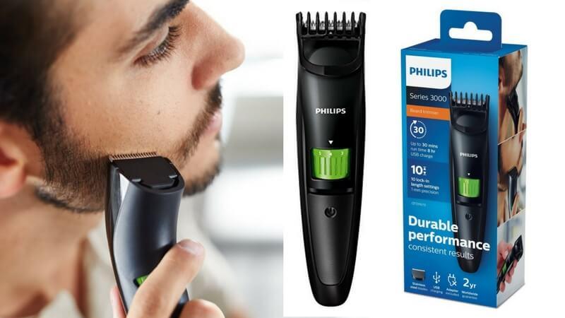 oferta Philips BEARDTRIMMER Series 3000 QT331013 barata SuperChollos