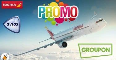 promocion avios groupon SuperChollos