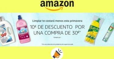 oferta promocion 10 euros descuento compra productos amazon pantry SuperChollos
