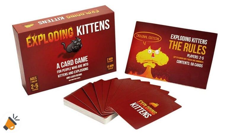 oferta Exploding Kittens Party Card barato SuperChollos