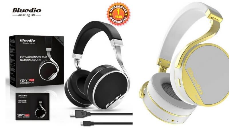 oferta auriculares inalambricos bluetooth bluedio vinyl plus baratos SuperChollos