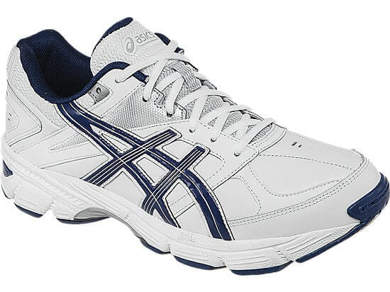 Asics GEL 190 TR White Navy Silver Mens Training Shoes 6202 1 LRG SuperChollos
