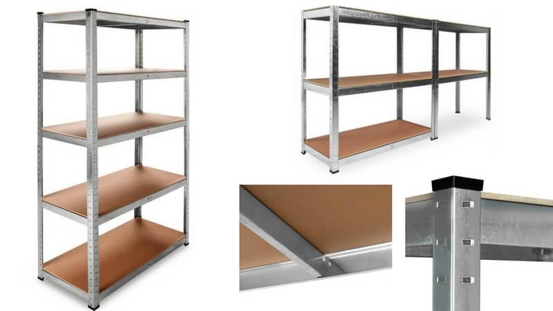 oferta comprar estanter%C3%ADa met%C3%A1lica madera galvanizada barata SuperChollos