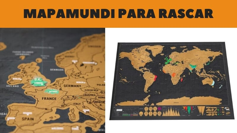 mapamundi de paises para rascar barato SuperChollos