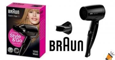 oferta secador Braun Satin Hair 1 barato chollo amazon SuperChollos
