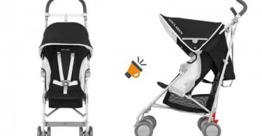 silla paseo beb%C3%A9 maclaren globetrotter negra impermeable barata SuperChollos