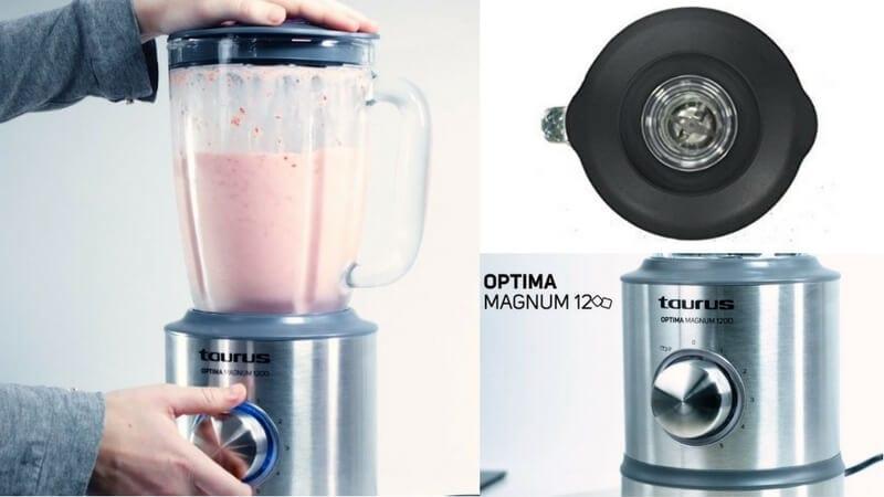 oferta batidora de vaso taurus optima magnum 1200 barata SuperChollos